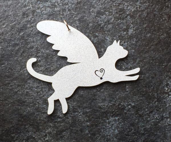 Cat Pet Angel White