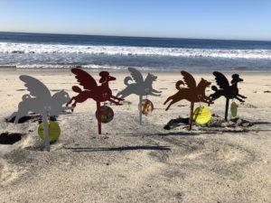 Holiday Ornaments Beach Photo